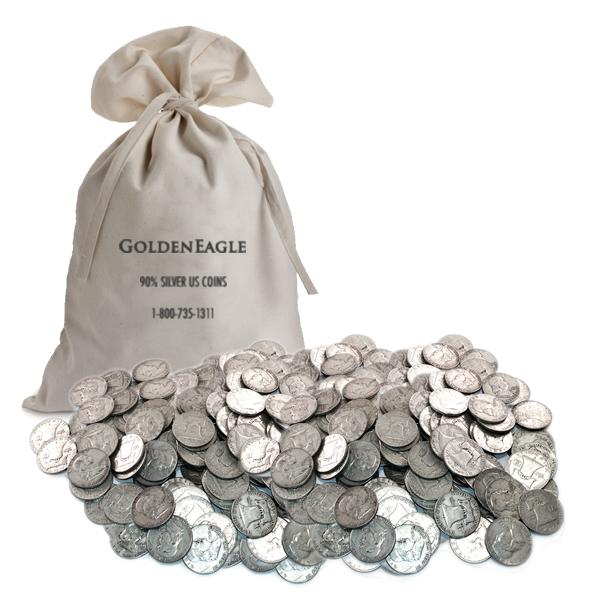 90% Silver Franklin Halves 1000 pcs.