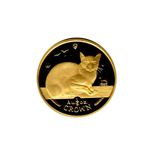 Isle of Man Gold Cat Fifth Ounce 1996