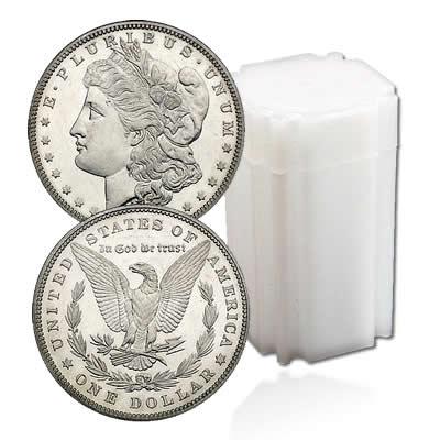 Uncirculated Morgan Dollar Roll 1889