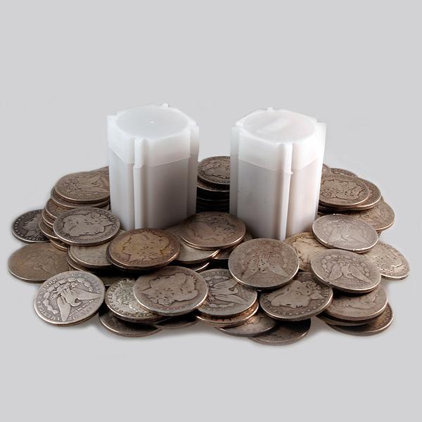 Circulated Peace and/or Morgan Silver Dollar (Cull)