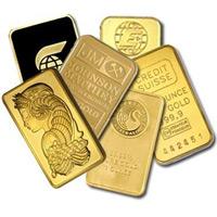 One Ounce Gold Bar - Random Manufacturer