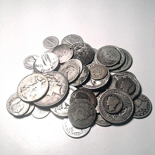 90% Silver Mixed Cull Condition 100 Ounces
