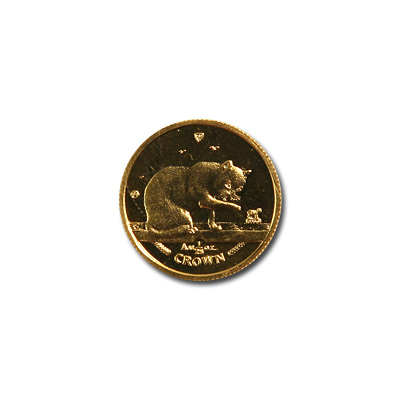 Isle of Man Gold Cat 25th Ounce 1999
