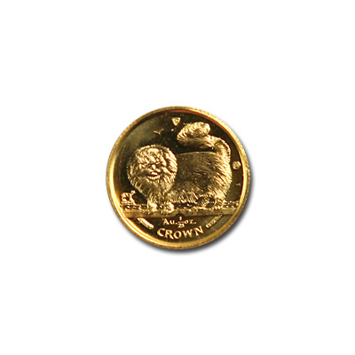 Isle of Man Gold Cat 25th Ounce 1997