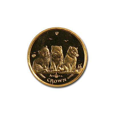 Isle of Man Gold Cat Tenth Ounce 2006