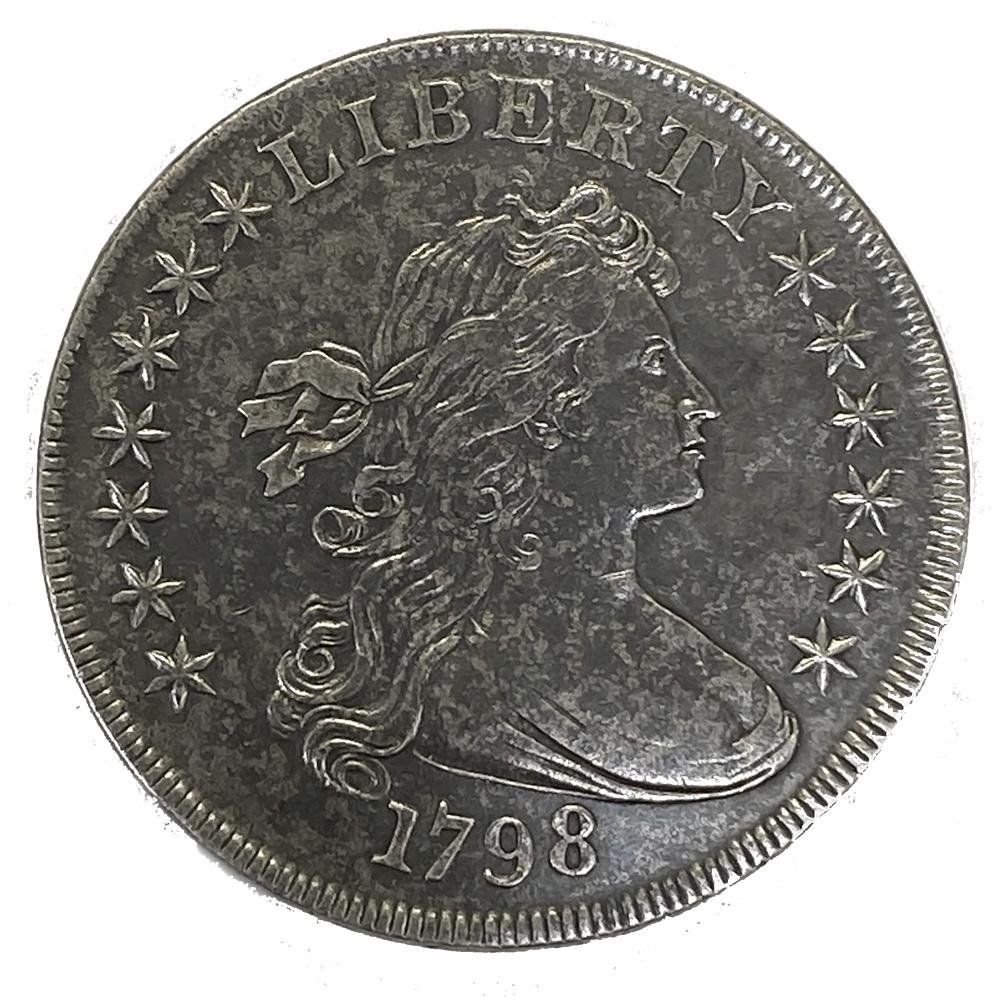 Bust Dollar 1799 Large Eagle XF