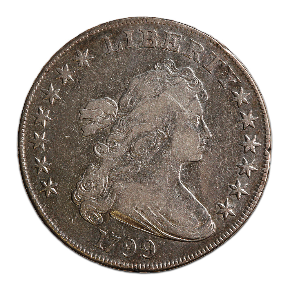 Bust Dollar 1799 VF (Light Cleaning)