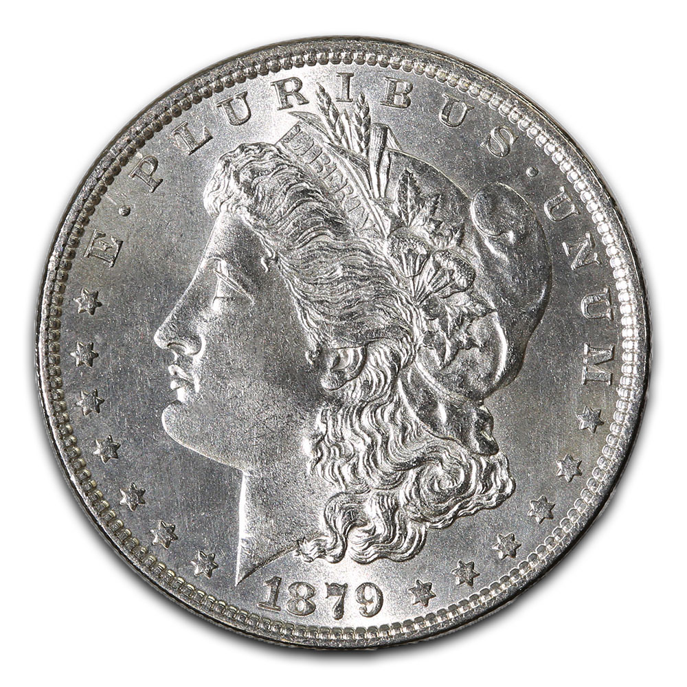 Morgan Silver Dollar Uncirculated 1879-S