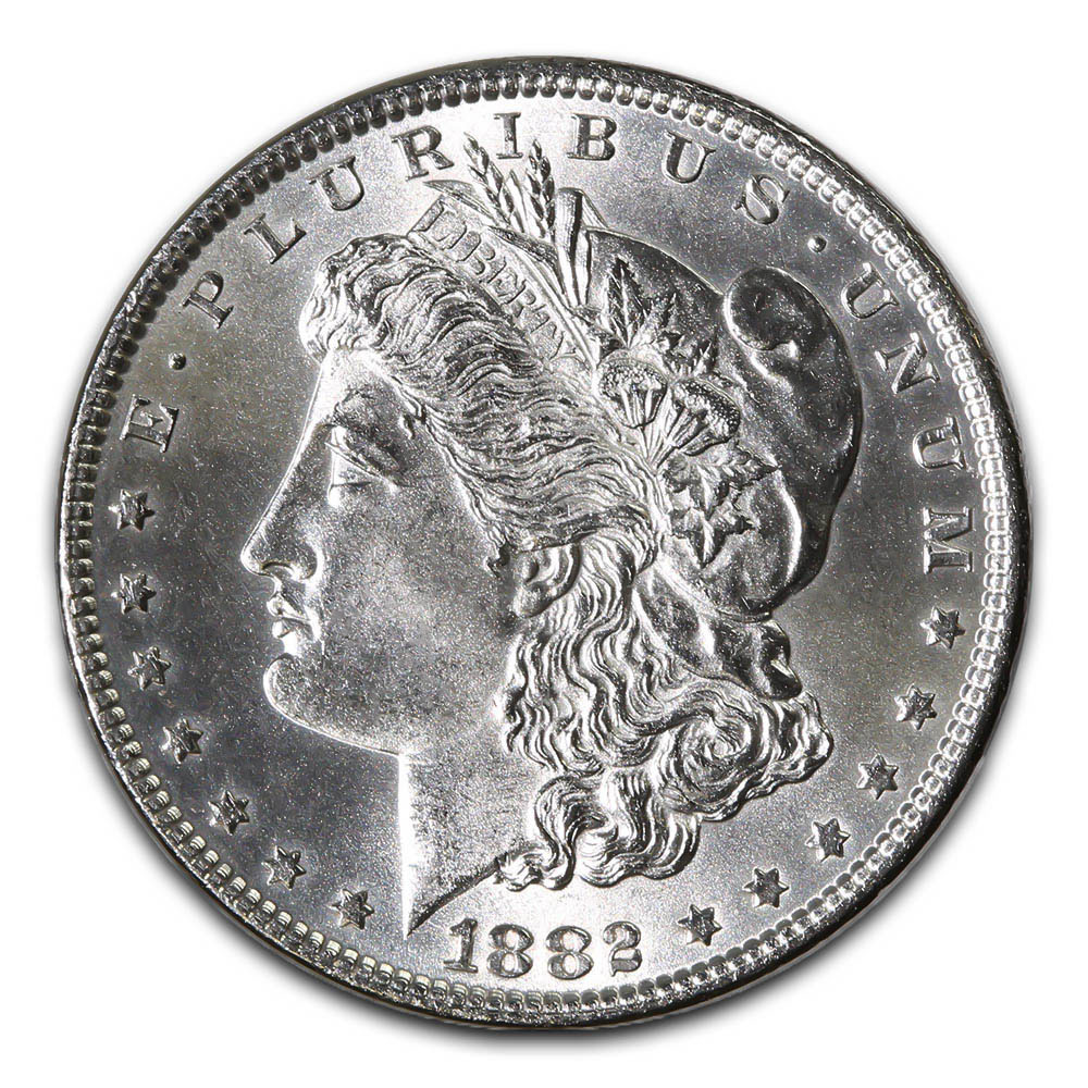 Morgan Silver Dollar Uncirculated 1882-S