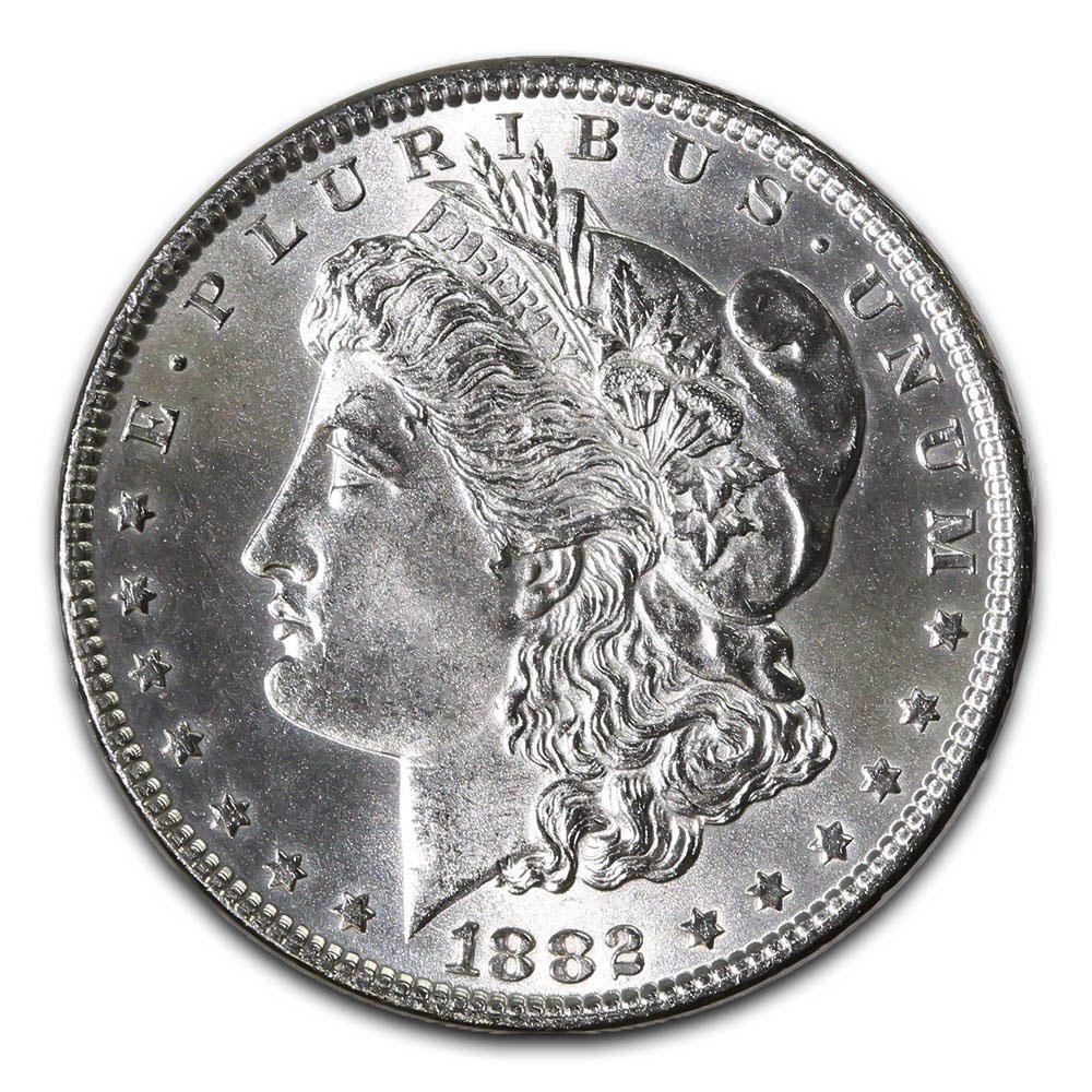 Morgan Silver Dollar Uncirculated 1882-O