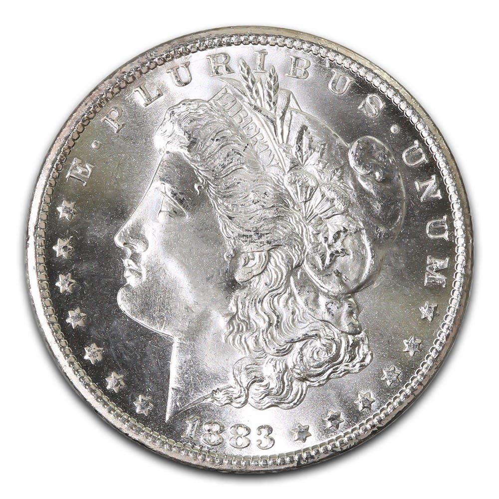 Morgan Silver Dollar Uncirculated 1883-O