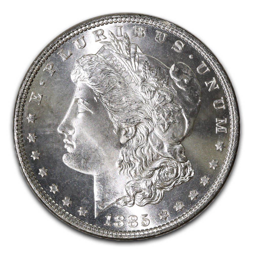 Morgan Silver Dollar Uncirculated 1885-O