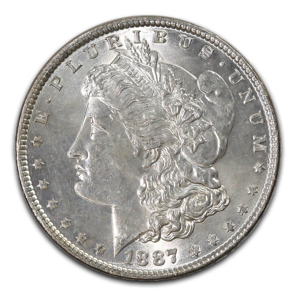 Morgan Silver Dollar Uncirculated 1887-O