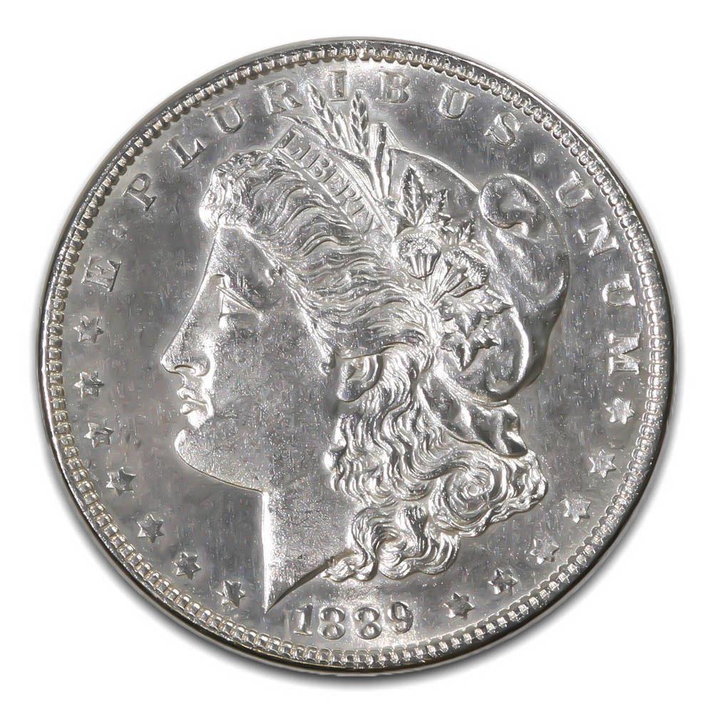 Morgan Silver Dollar Uncirculated 1889-O