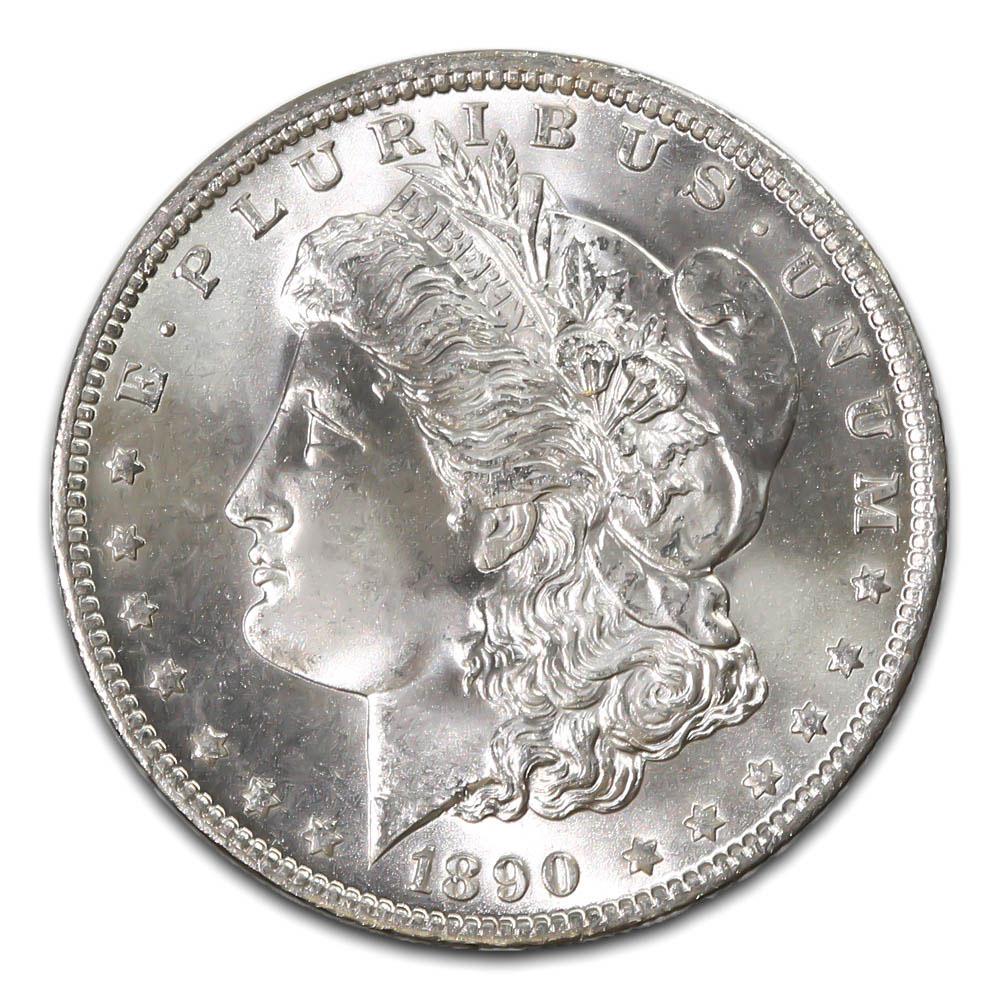 Morgan Silver Dollar Uncirculated 1890-CC