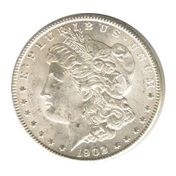 Morgan Silver Dollar Uncirculated 1902-S