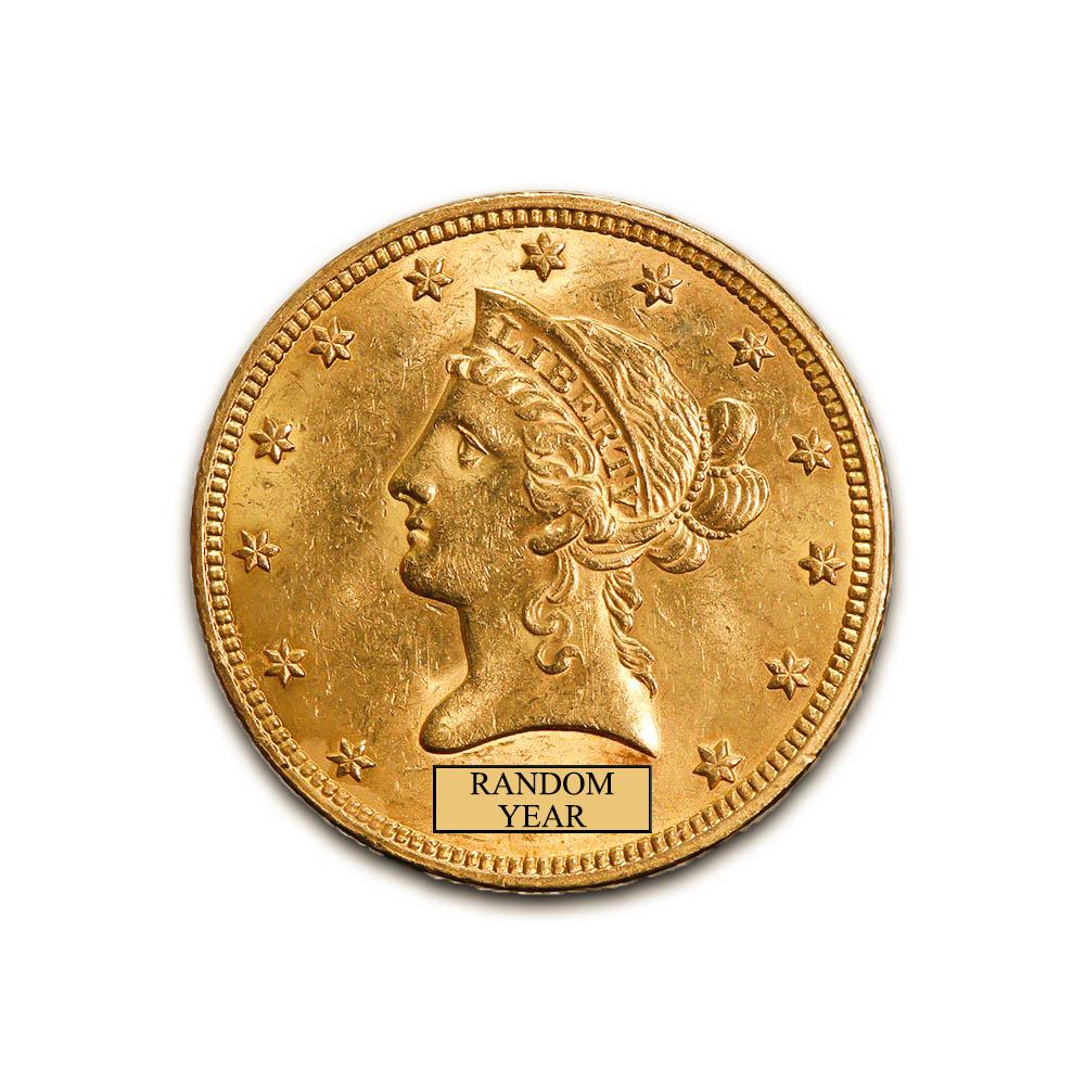 Early Gold Bullion $10 Liberty Uncirculated