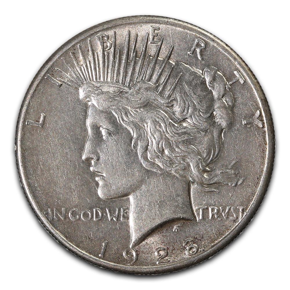 Peace Silver Dollar Extra Fine 1928