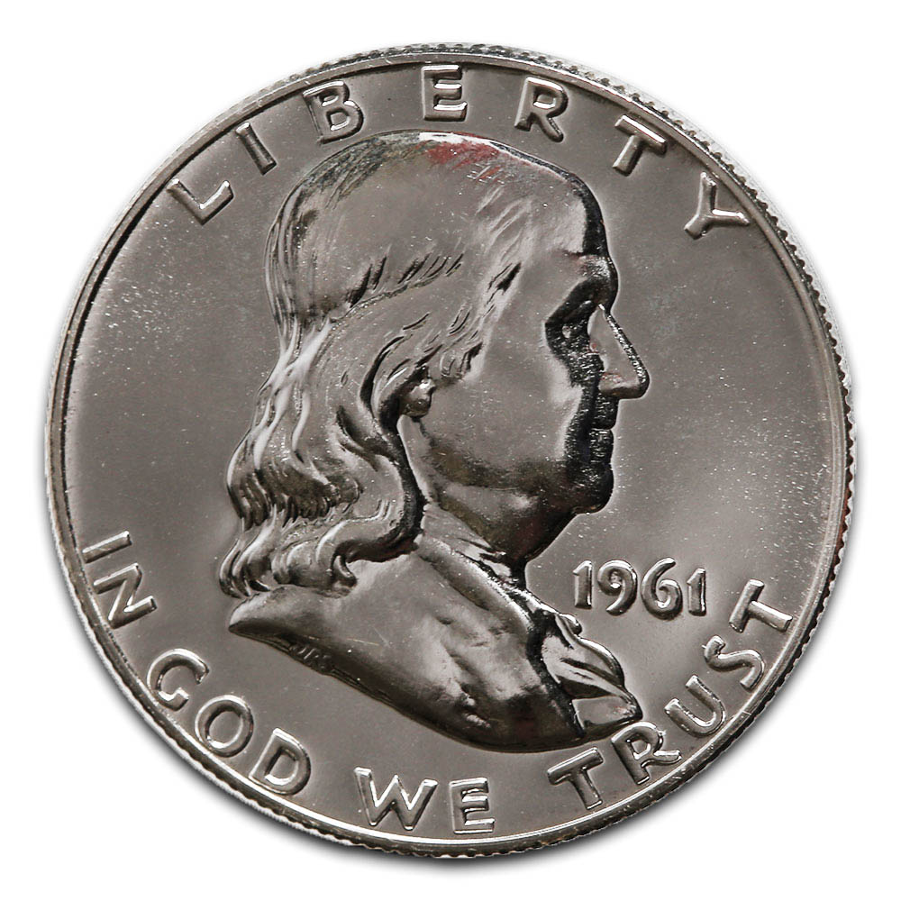 Proof Franklin Half Dollar 1961