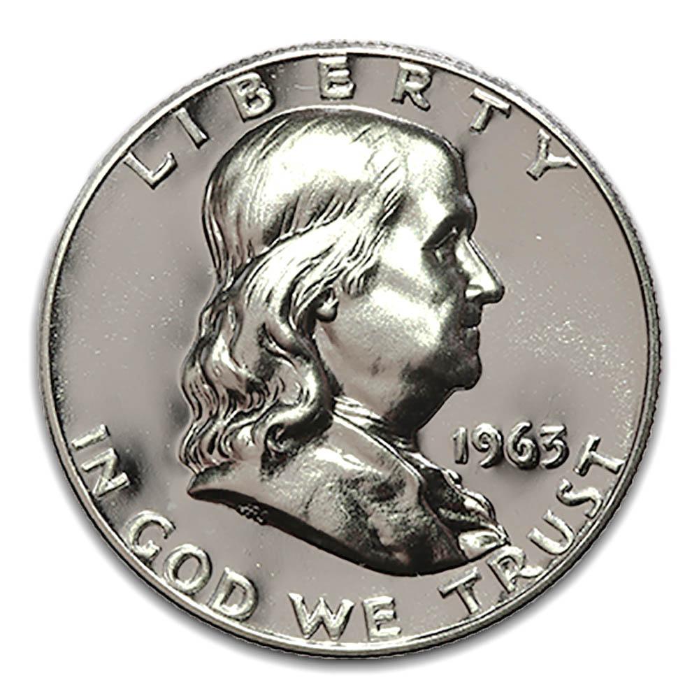 Proof Franklin Half Dollar 1963