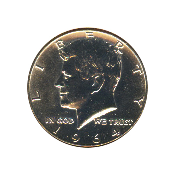 Kennedy Half Dollar 1964-D BU