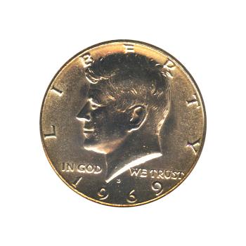 Kennedy Half Dollar 1969-D BU