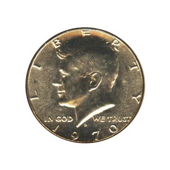 Kennedy Half Dollar 1970-D BU