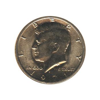 Kennedy Half Dollar 1971-D BU