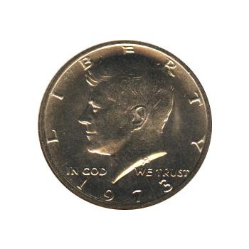 Kennedy Half Dollar 1973 BU
