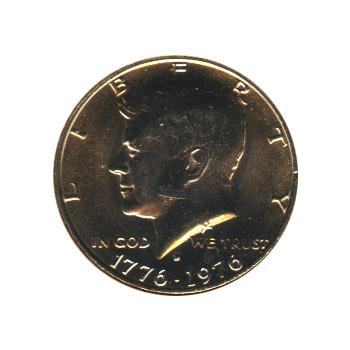 Kennedy Half Dollar 1976-D BU