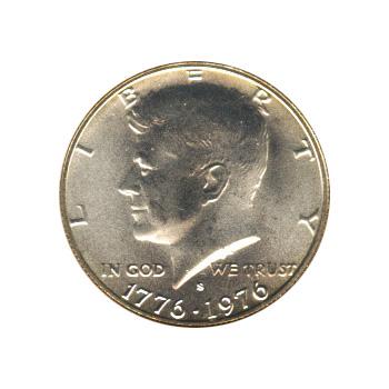 Kennedy Half Dollar 1976-S BU Silver