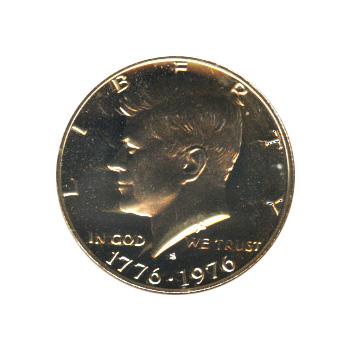 Kennedy Half Dollar 1976-S Proof