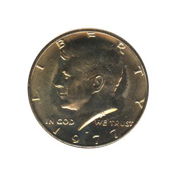 Kennedy Half Dollar 1977-D BU