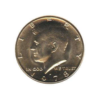 Kennedy Half Dollar 1978-D BU