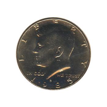 Kennedy Half Dollar 1985-D BU