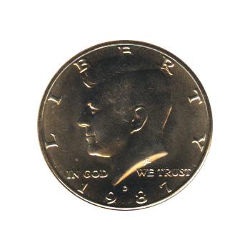 Kennedy Half Dollar 1987-D BU