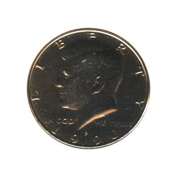 Kennedy Half Dollar 1990-P BU