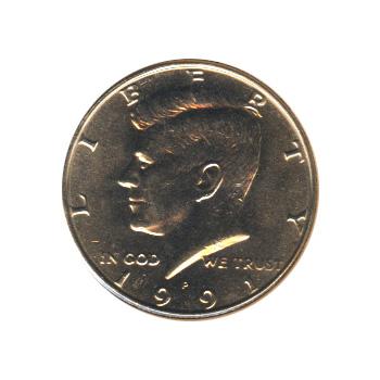 Kennedy Half Dollar 1991-P BU