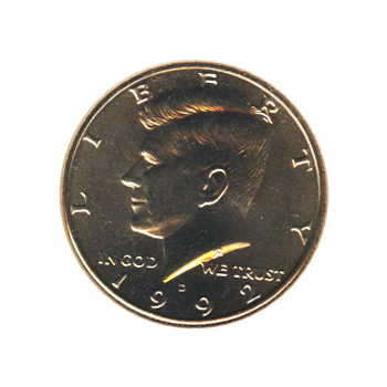 Kennedy Half Dollar 1992-D BU
