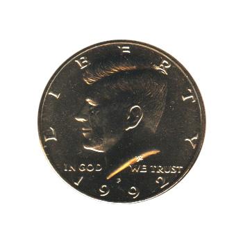 Kennedy Half Dollar 1992-P BU