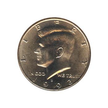 Kennedy Half Dollar 1993-D BU