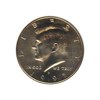 Kennedy Half Dollar 1995-D BU