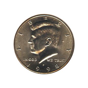 Kennedy Half Dollar 1998-P BU