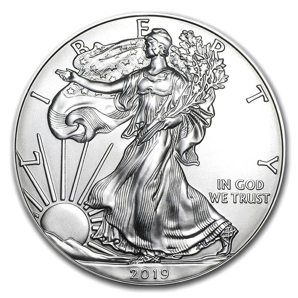 2019 1 oz Silver American Eagle BU