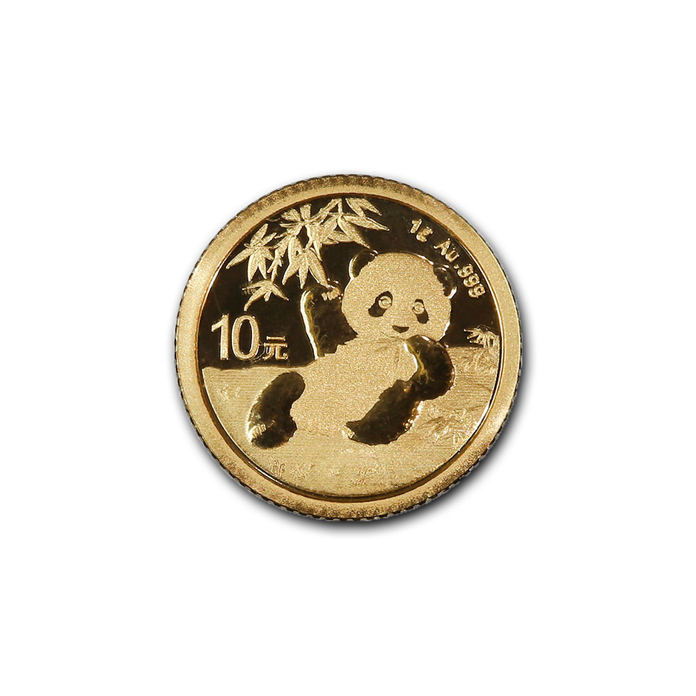 Chinese Gold Panda 1 Gram 2020