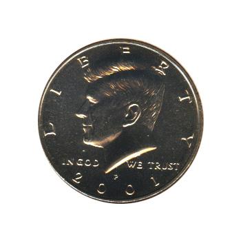 Kennedy Half Dollar 2001-P BU