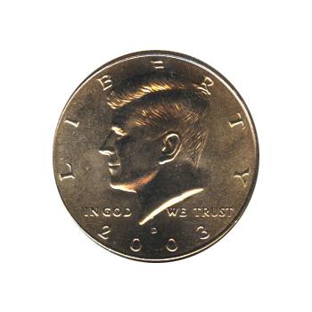 Kennedy Half Dollar 2003-D BU