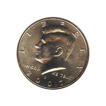 Kennedy Half Dollar 2007-D BU