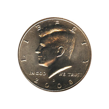 Kennedy Half Dollar 2008-D BU