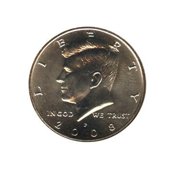 Kennedy Half Dollar 2008-P BU